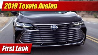 First Look: 2019 Toyota Avalon