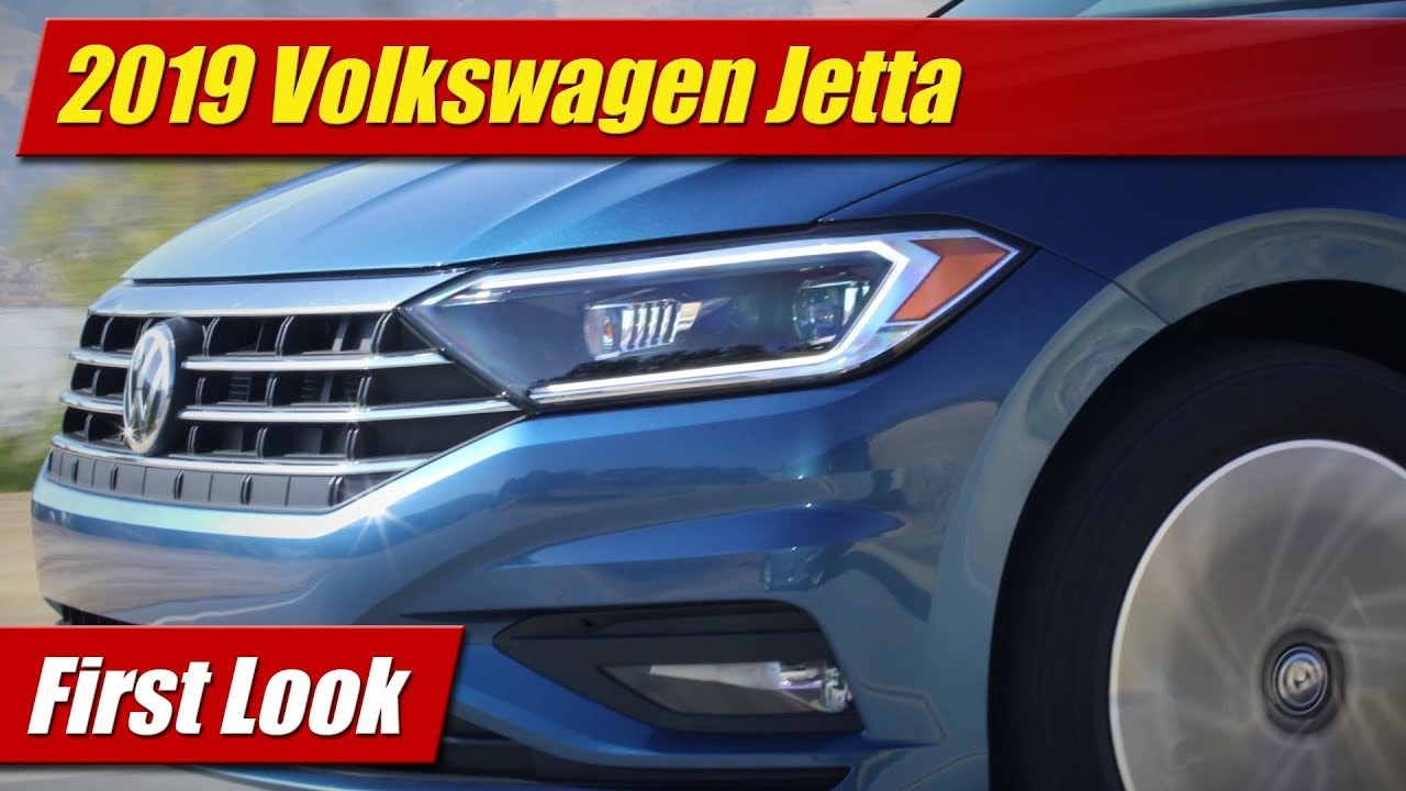 first look 2019 volkswagen jetta testdriven tv. Black Bedroom Furniture Sets. Home Design Ideas