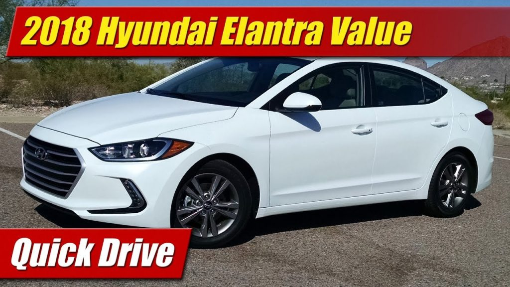 quick drive 2018 hyundai elantra value edition testdriven tv. Black Bedroom Furniture Sets. Home Design Ideas