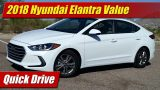 Quick Drive: 2018 Hyundai Elantra Value Edition