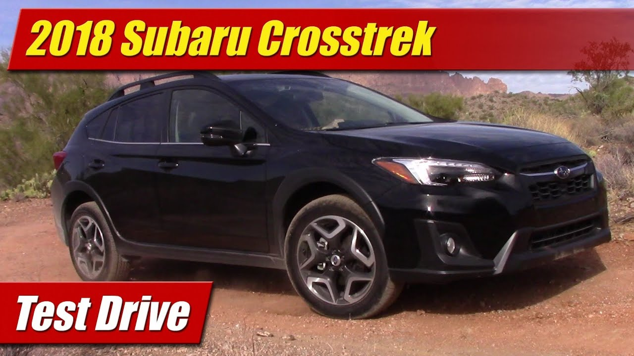 test drive 2018 subaru crosstrek testdriven tv. Black Bedroom Furniture Sets. Home Design Ideas