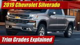 Trim Grades Explained: 2019 Chevrolet Silverado