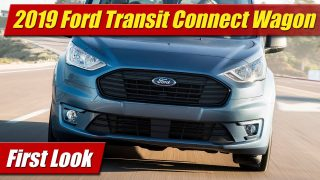 First Look: 2019 Ford Transit Connect Wagon