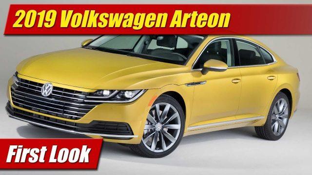 First Look: 2019 Volkswagen Arteon