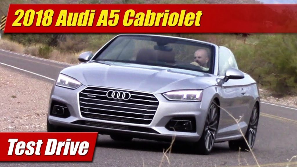 test drive 2018 audi a5 cabriolet testdriven tv. Black Bedroom Furniture Sets. Home Design Ideas