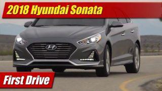 First Drive: 2018 Hyundai Sonata