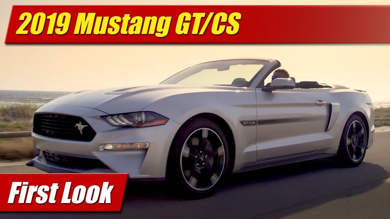 First Look: 2019 Ford Mustang GT/CS