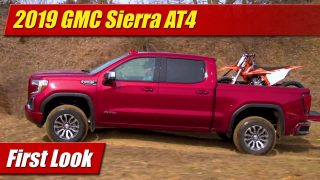 First Look: 2019 GMC Sierra AT4