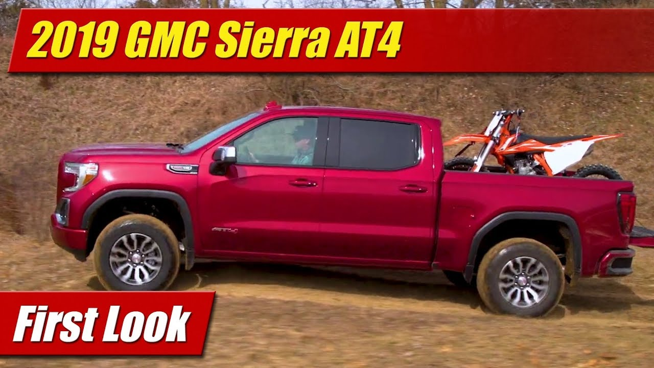 First Look: 2019 GMC Sierra AT4 - TestDriven.TV