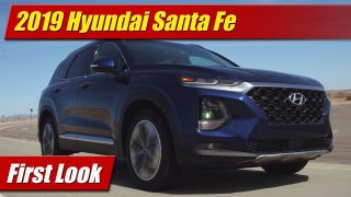 First Look: 2019 Hyundai Santa Fe