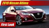 First Look: 2019 Nissan Altima