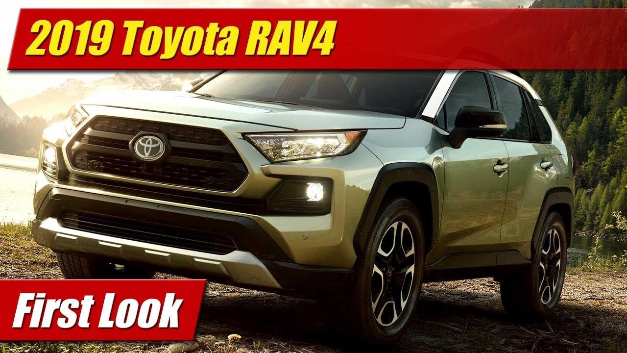 First Look 2019 Toyota Rav4 Testdriven Tv
