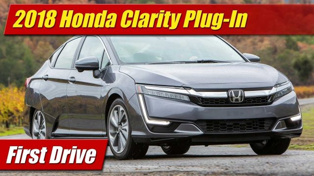 First Drive: 2018 Honda Clarity Plug-In