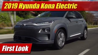First Look: 2019 Hyundai Kona Electric