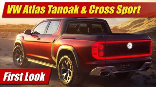 First Look: Volkswagen Atlas Tanoak and Cross Sport