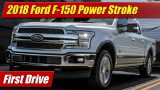 First Drive: 2018 Ford F-150 Power Stroke