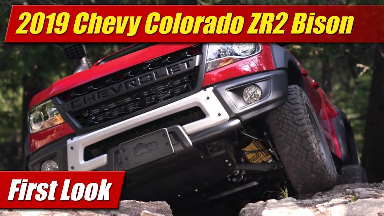 First Look: 2019 Chevrolet Colorado ZR2 Bison
