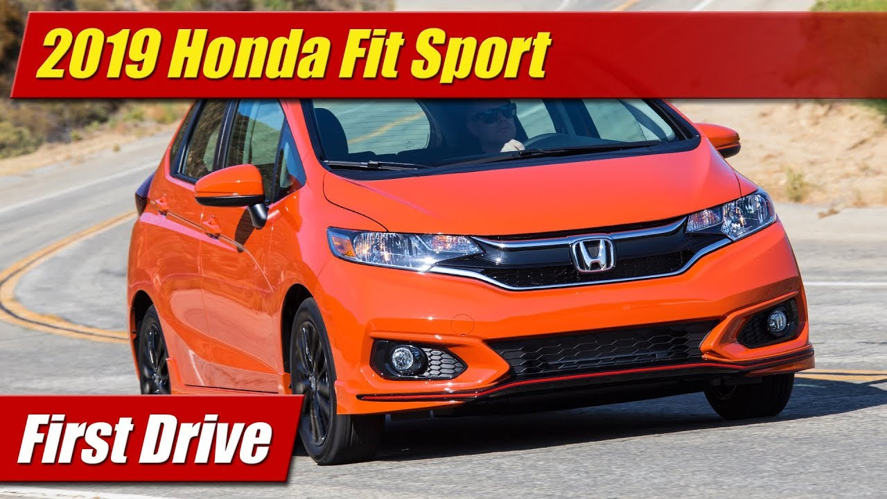 First Drive: 2019 Honda Fit Sport