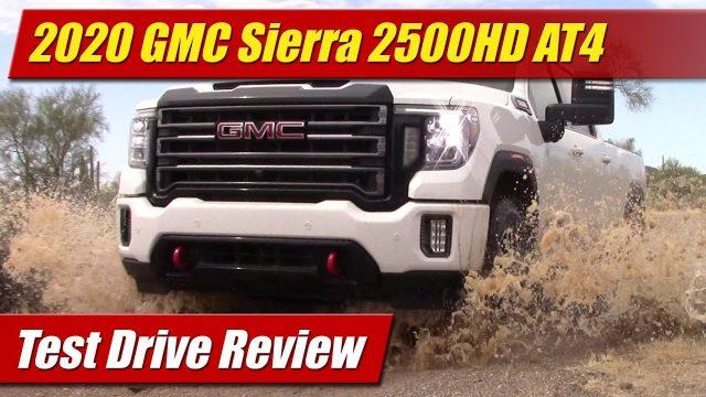 Test Drive: 2020 GMC Sierra 2500HD AT4
