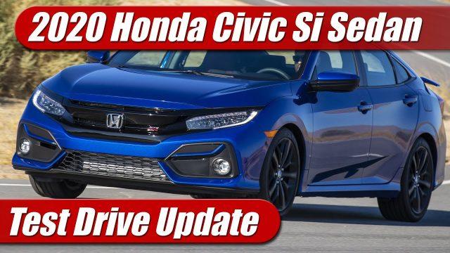 Test Drive: 2020 Honda Civic Si Sedan