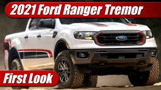First Look: 2021 Ford Ranger Tremor