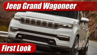 First Look: Jeep Grand Wagoneer Concept