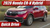 Quick Drive: 2020 Honda CR-V Hybrid