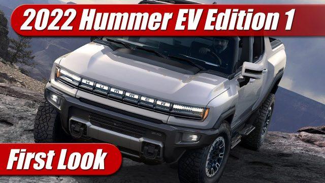 First Look: 2022 GMC Hummer EV