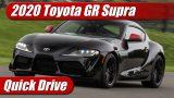 Quick Drive: 2020 Toyota GR Supra