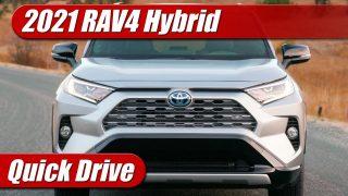 Quick Drive: 2021 Toyota RAV4 Hybrid XSE
