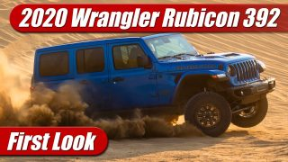 First Look: 2021 Jeep Wrangler Rubicon 392