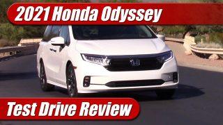 Test Drive: 2021 Honda Odyssey Elite