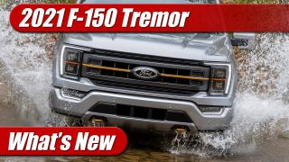 What's New: 2021 Ford F-150 Tremor