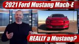 2021 Mustang Mach-E: Is it REALLY and Mustang?
