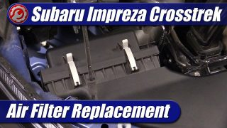 Air Filter Replacement: 2021 Subaru Crosstrek