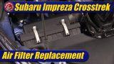 Air Filter Replacement: 2021 Subaru Crosstrek