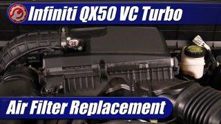 Air Filter Replacement: Infiniti QX50