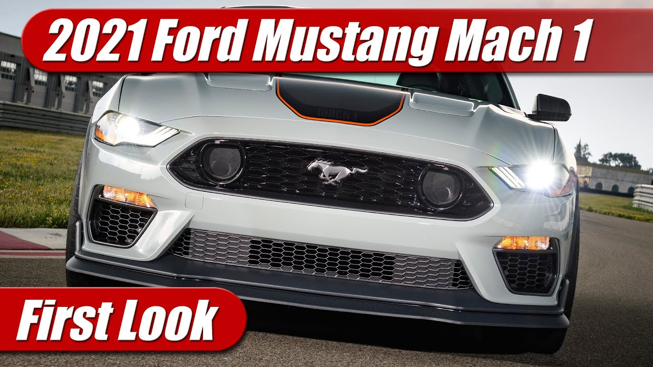 First Look: 2021 Ford Mustang Mach 1