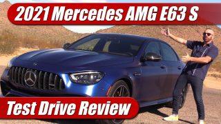 Test Drive: 2021 Mercedes AMG E63 S