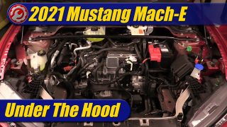 Under The Hood: 2021 Ford Mustang Mach-E