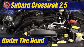 Under The Hood: 2021 Subaru Crosstrek 2.5