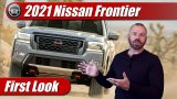 First Look: 2022 Nissan Frontier