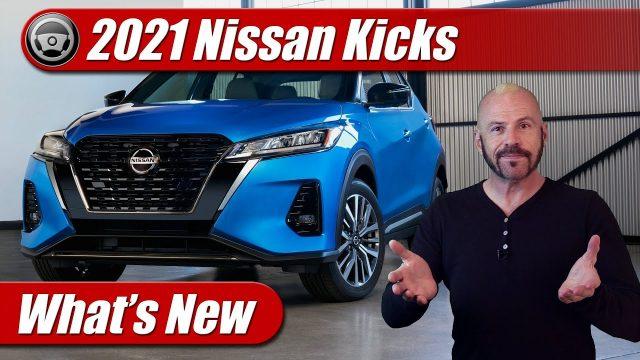 What's New: 2021 Nissan Kicks
