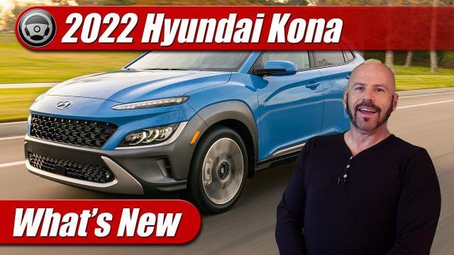 What's New: 2022 Hyundai Kona