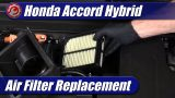 Air Filter Replacement: 2018-2021 Honda Accord Hybrid
