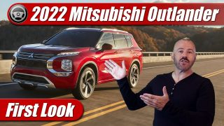 First Look: 2022 Mitsubishi Outlander