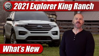 What's New: 2021 Ford Explorer King Ranch