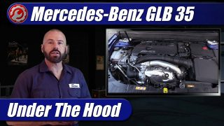 Mercedes-Benz AMG GLB 35: Under The Hood