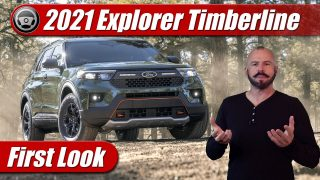 First Look: 2021 Ford Explorer Timberline