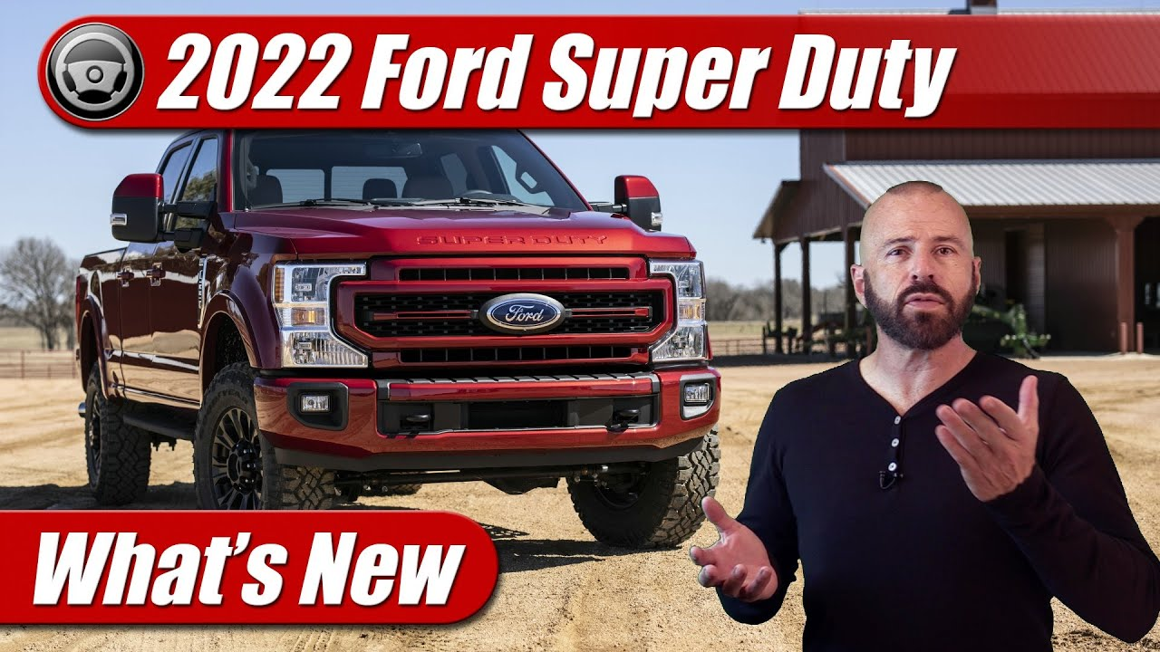 First Look: 2022 Ford Super Duty